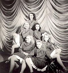WWII, USO performers.
