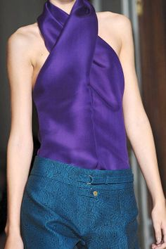 Yves Saint Laurent Spring 2012 Ready to Wear