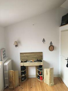 Corner Desk, Entryway, Loft, Bed, Furniture, Home Decor, Cupboard, Corner Table, Entrance