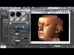3dsmax rendering Human skin with VRay - YouTube