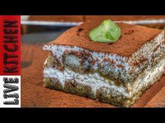 Το πιο εύκολο Τιραμισού σε χρόνο ρεκόρ (Χωρίς Αυγά) Tiramisu cake Recipe (Eggless) - Live Kitchen - YouTube Greek Desserts, Party Desserts, Life Kitchen, Kitchen Living, Sweet Sweet, Tiramisu, Banana Bread, Coffee, Food