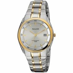 Accurist Mens Stainless Steel Silver Dial Watch - MB841S  RRP: £70.00 Online price: £56.00 You Save: £14.00 (20%)  www.lingraywatches.co.uk