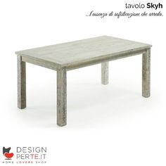 Quando l'assenza di sofisticazioni genera un oggetto d'arredo di puro stile nasce il tavolo #Skyh.  ♡ www.designperte.it ♡  #homestory #homeloversstory #homeloversshopstory #homedecor #homedesign #interiordesign #design #tavolidesign #RoughAttitude #LaForma #Designperte