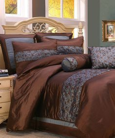 Take a look at this Fritzi Comforter Set by Home Fashions International on #zulily today!