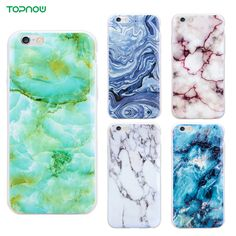 Marble texture Phone Cases For iPhone 6 6S 6Plus 6sPlus Soft TPU protect shell back cover silicone case coque