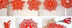 Snehové vločky z papiera | DIY návody a šablóny