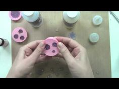 how to: Making resin and clay flowers