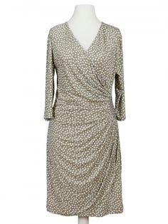 Damen Jerseykleid, beige von Lady Lot Paris bei www.meinkleidchen.de