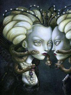 Benjamin Lacombe и его волшебный мир сказок - Ярмарка Мастеров - ручная работа, handmade