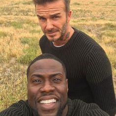 David Beckham and Kevin Hart Reunite for Second H