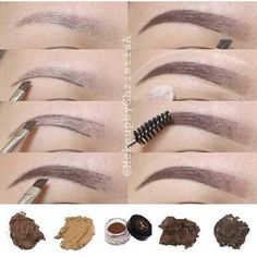 How to do your Eyebrow make up properly. (A lot of teenage girls should really. - How to do your Eyebrow make up properly. (A lot of teenage girls should really see this) - {hashtag} Eyebrow Makeup, Skin Makeup, Eyeliner, Eye Brows, Shape Eyebrows, Eyebrow Shapes, Eyebrow Tinting, Eyebrow Tips, Arched Eyebrows