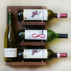 NECESITO UNO DE ESTOS EN MI CASA ! Wine Rack Shelf, $70, now featured on Fab.