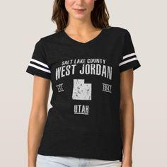West Jordan T-shirt - vintage gifts retro ideas cyo