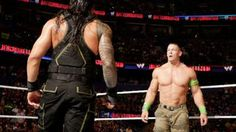 Who emerged victorious when WWE World Heavyweight Champion John Cena defended his illustrious title against Roman Reigns, Kane and Randy Orton in a Fatal 4-Way Match at #WWE Battleground?