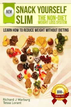 SNACK YOURSELF SLIM: The Non-diet Weight Loss System. Learn How to Reduce Weight Without Dieting. by Tessa Lorant, http://www.amazon.com/dp/B0089DMSQO/ref=cm_sw_r_pi_dp_.s3Rrb0SC42EC