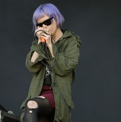 Fuck Yeah, Chick Musicians!, Alice Glass of Crystal Castles