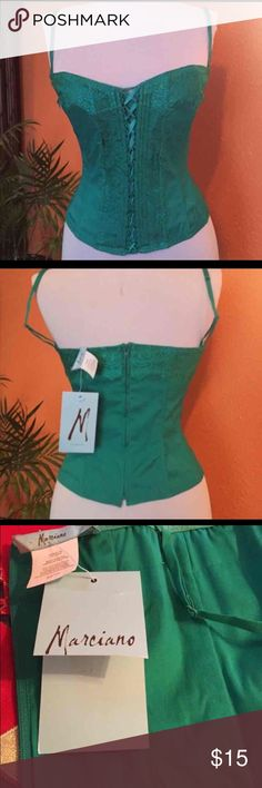 NWT Marciano Corset Top Brand new. Size xs/0 Guess by Marciano Tops