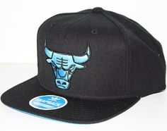 Chicago Bulls Adidas NBA Black Snap Back Hat - Neon Blue Logo  Amazon.co.uk   Sports   Outdoors 7ec4380926a9