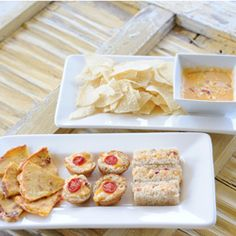 One batch of homemade pimento cheese = so many snack possibilities.