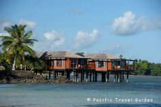 Overwater bungalows at the Coconuts Beach Club Resort, #Samoa.