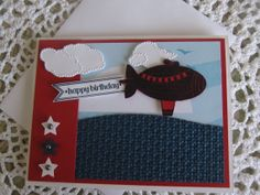 Stampin' Up Handmade Greeting Card: Happy Birthday