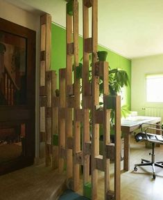 Wooden pallets project ideas for your home - DIY Palette - Wooden Pallet Projects, Wooden Pallet Furniture, Wooden Pallets, Wooden Diy, Diy Furniture, Pallet Ideas, Furniture Plans, 1001 Pallets, Furniture Chairs