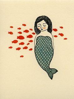 mermaid. lulibahr