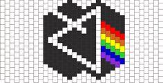 Dark Side of the Moon mask bead pattern