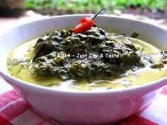 Just Try & Taste: Gulai Daun Singkong - Menu Kegemaran Abang