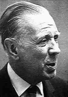 Borges todo el año: Javier Cercas: Borges, el mejor artífice. En El País, Madrid, sábado 21 de septiembre de 2002. Foto:Jorge Luis Borges, recorte de publicación periódica s/d