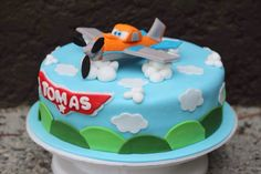Dusty Cake/ Planes Cake