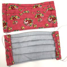 Use promo code PYPMASK4(4for $20) at checkout. One sewn face mask made from cotton fabric and interfacing, ready for use. Priced below materials plus labour cost. Assembledmasks should be laundered either by hand or in a garment bag to preserve the elastic. ***THESE MASKS ARE NOT RATED OR TESTED FOR PERFORMANCE, BUT Labour Cost, Mask Shop, Mask Making, Cotton Fabric, Preserve, Face, Floral, Pink, Masks