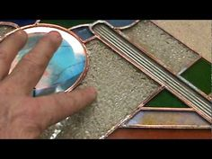 stained glass how to ideas sg21b copper foil thick bevel
