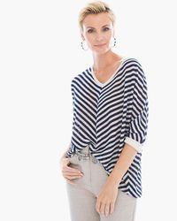 Slubby Striped Mary Pullover Sweater>