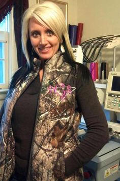 d8a04d5245e6d Country Fashion, Country Girl Style, Country Girls, Camo Vest, Hunting
