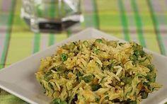 Riso basmati al curry con verdure