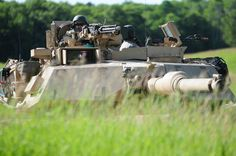 Soldiers of the 1st Armored Brigade Combat Team, 34th #RedBull Infantry Division, are taking part in a mass training exercise integrated with the Army's eXportable Combat Training Capabilities at #CampRipley May 15 - Aug. 18, 2015.
