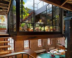 Tribcca Soap Factory Transformed into Loft By architect Andrew Franz. century soap factory transformed in Tribeca, a unique loft apartment.By architect Andrew Franz. century soap factory transformed in Tribeca, a unique loft apartment. Converted Warehouse, Warehouse Home, Warehouse Conversion, Warehouse Apartment, Warehouse Design, Loft Conversions, Warehouse Floor Plan, Lighting Warehouse, Converted Barn