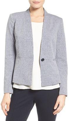 Women's Halogen Graphite Stretch Suit Jacket