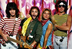 Van Halen by Mark Weiss.  1981.