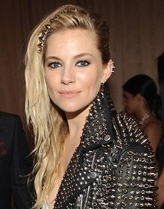 Sienna Miller went all out at last year's punk-themed Met Gala...