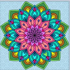Mandala Art Lesson, Mandala Artwork, Mandala Pattern, Mandala Design, Boarders And Frames, Cd Crafts, Painted Flower Pots, Alphabet, Doll Painting