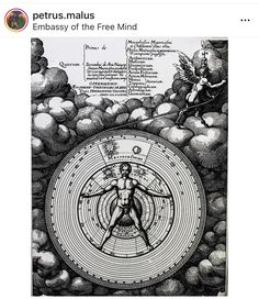 Utriusque Cosmi Historia, Engraved by Matthias Merian (Sid Dickens Memory Block Cosmos, Esoteric Art, Merian, Free Mind, Alchemy, Original Artwork, Symbols, Memories, Vintage