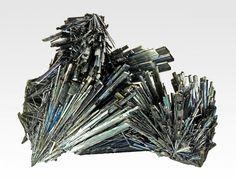 Stibnite from Herja Mine, Baia Mare, Maramures Co., Romania