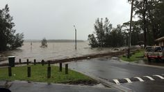 Photo of the Week - The Basin View boat ramp is there somewhere