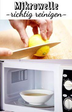 Die Mikrowelle zu reinigen ist oft lästig. Mit diesen 3 Tipps glänzt das Haushaltsgerät schon bald wieder wie neu.