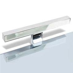 Lampada bagno a LED per installazione a bordo specchio