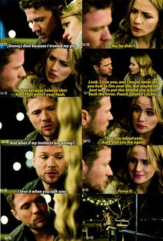 Bob Lee and Julie Swagger (Ryan Phillippe and Shantel VanSanten) Ryan Phillipe, Shantel Vansanten, Tv Shows, Bob, Action, Goals, Music, Movie Posters, Movies