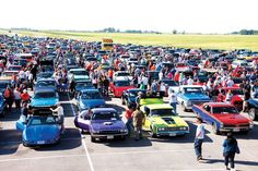 Why You Should Drive a Muscle Car - You can take it to car shows