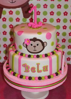 Monkey Cake by Violeta Glace